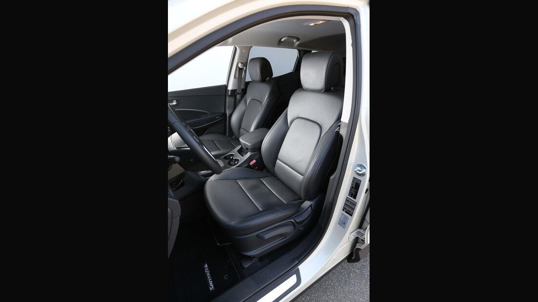 Hyundai Santa Fe 2.0 CRDi 2WD, Fahrersitz