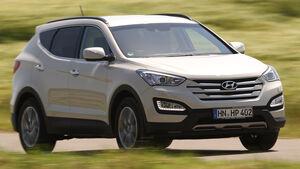 Hyundai Santa Fe 2.0 CRDi 2WD, Frontansicht