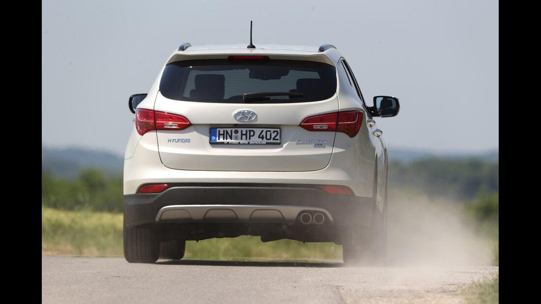 Hyundai Santa Fe 2.0 CRDi 2WD, Heckansicht