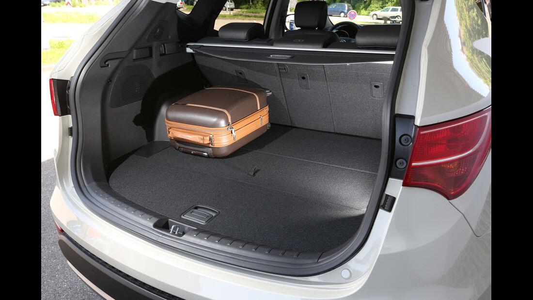 Hyundai Santa Fe 2.0 CRDi 2WD, Kofferraum