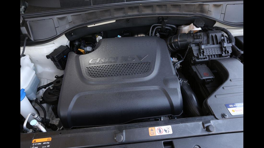 Hyundai Santa Fe 2.0 CRDi 2WD, Motor