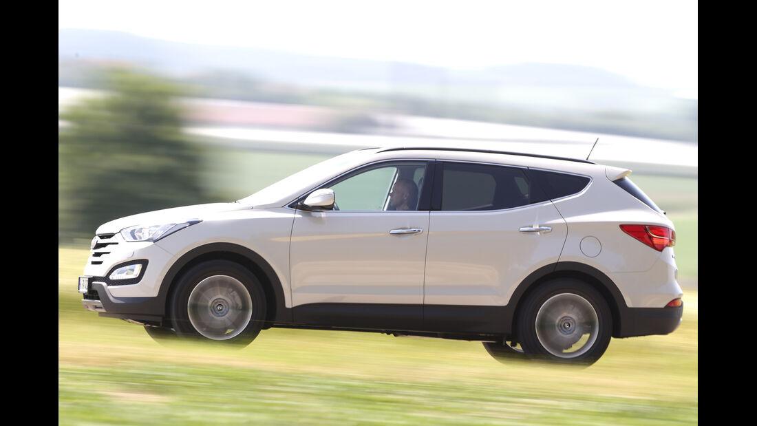 Hyundai Santa Fe 2.0 CRDi 2WD, Seitenansicht