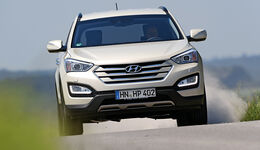 Hyundai Santa Fe 2.0 CRDi 2WD Style, Frontansicht