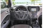 Hyundai Santa Fe 2.0 CRDi, Cockpit, Lenkrad