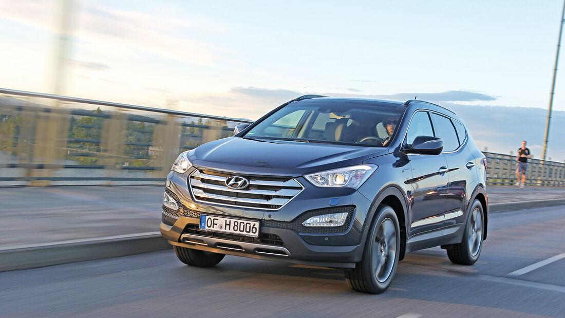 Hyundai Santa Fe 2.0 CRDi, Frontansicht