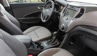 Hyundai Santa Fe 2.0 CRDi, Innenraum, Sitze