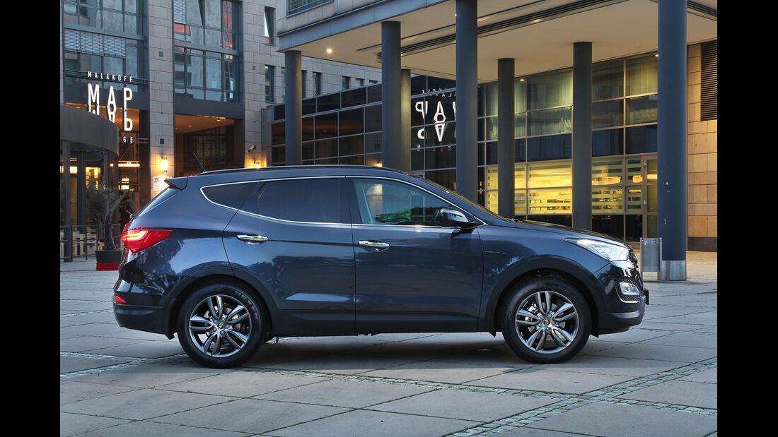 Hyundai Santa Fe 2.0 CRDi, Seitenansicht