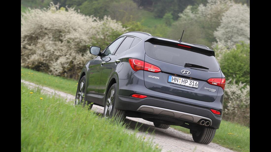 Hyundai Santa Fe 2.2 CR Di 4WD, Heckansicht