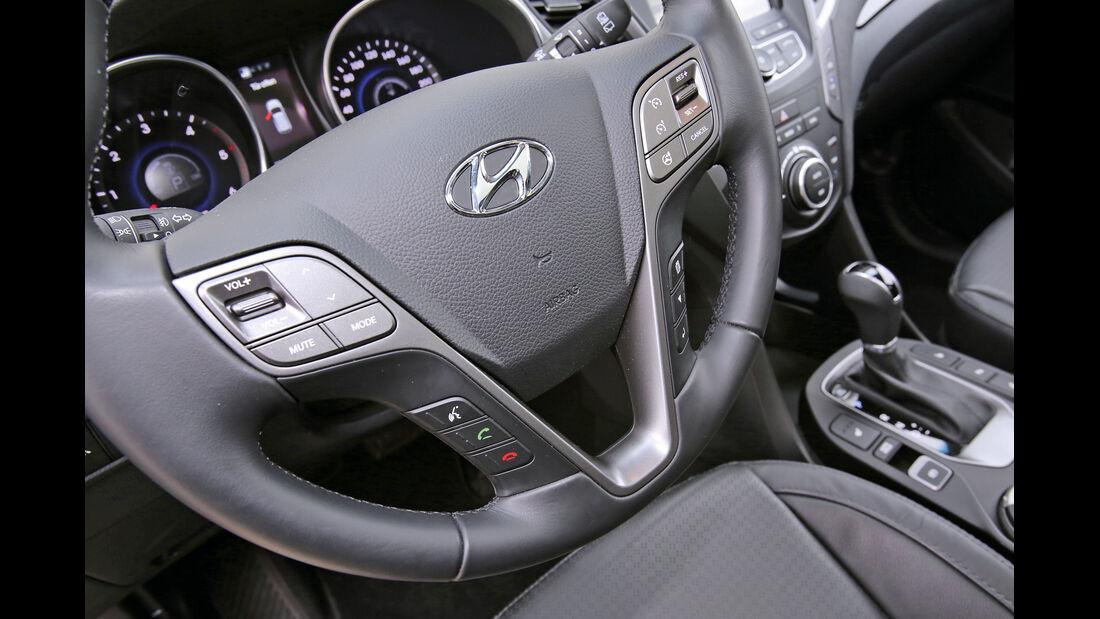 Hyundai Santa Fe 2.2 CR Di 4WD, Lenkrad