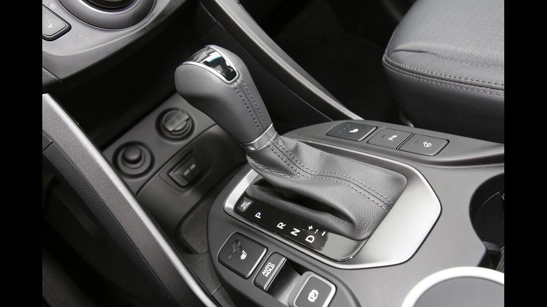Hyundai Santa Fe 2.2 CR Di 4WD, Schalthebel