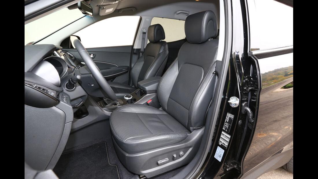 Hyundai Santa Fe 2.2 CRDi 4WD, Fahrersitz