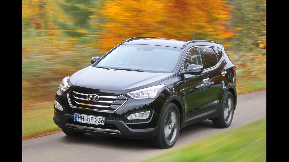 Hyundai Santa Fe 2.2 CRDi 4WD, Frontansicht