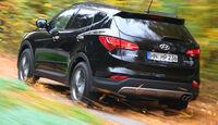 Hyundai Santa Fe 2.2 CRDi 4WD, Heckansicht