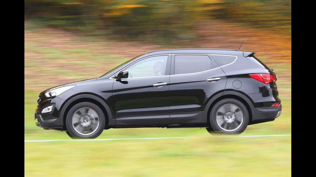 Hyundai Santa Fe 2.2 CRDi 4WD, Seitenansicht
