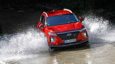 Hyundai Santa Fe 2.2 CRDi 4WD Test