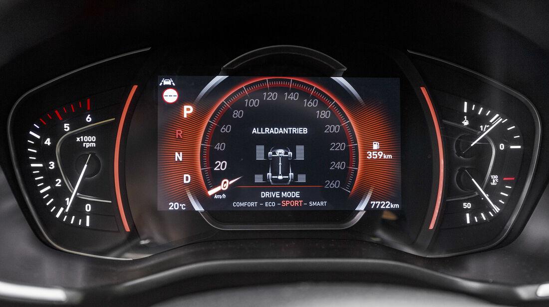 Hyundai Santa Fe 2.2 CrDi 4WD Premium, Interieur