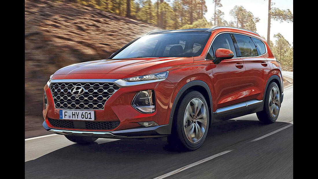Hyundai Santa Fe, Best Cars 2020, Kategorie K Große SUV/Geländewagen