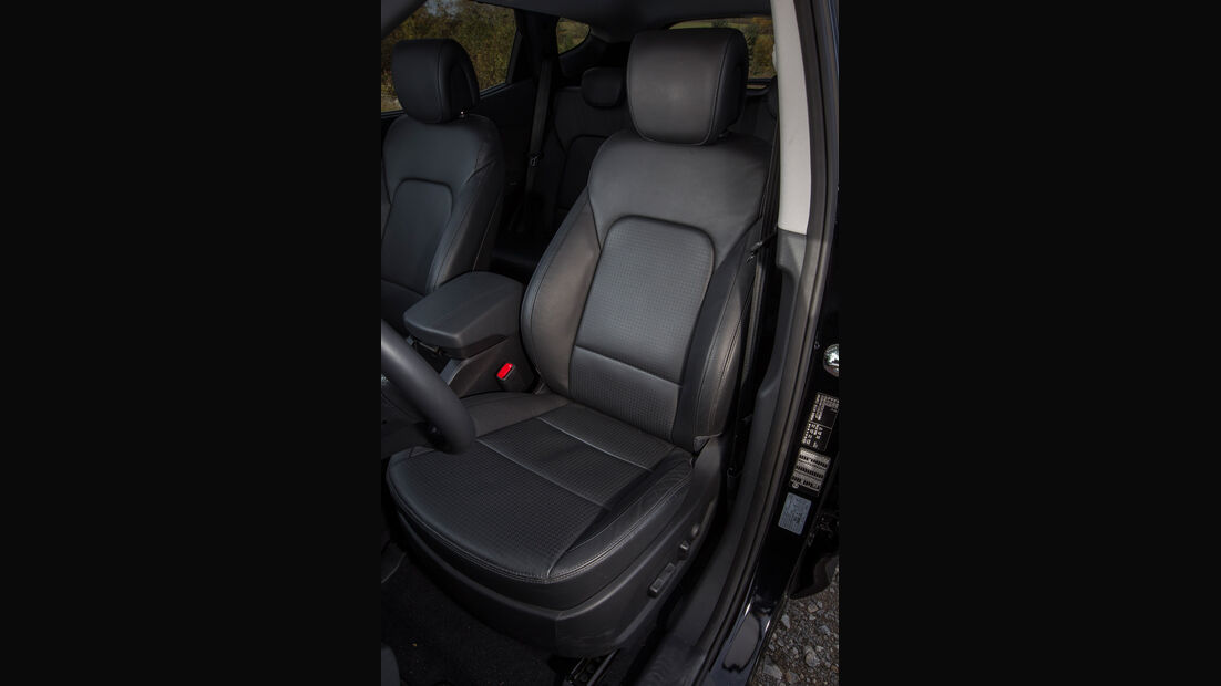 Hyundai Santa Fe, Fahrersitz
