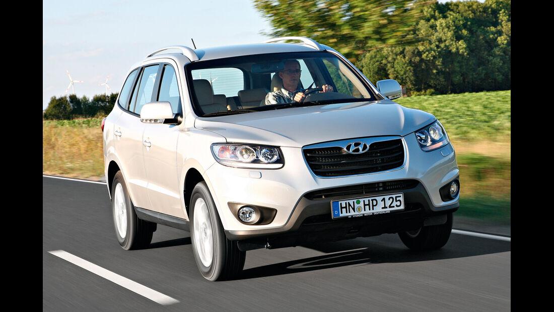 Hyundai Santa Fe, Frontansicht