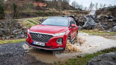Hyundai Santa Fe, Leser-Testdrive