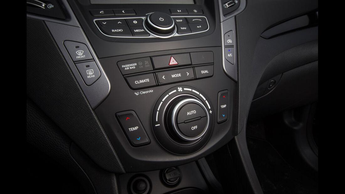 Hyundai Santa Fe, Mittelkonsole