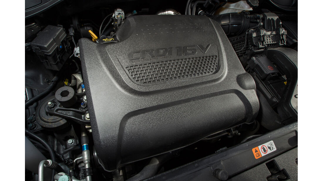 Hyundai Santa Fe, Motor