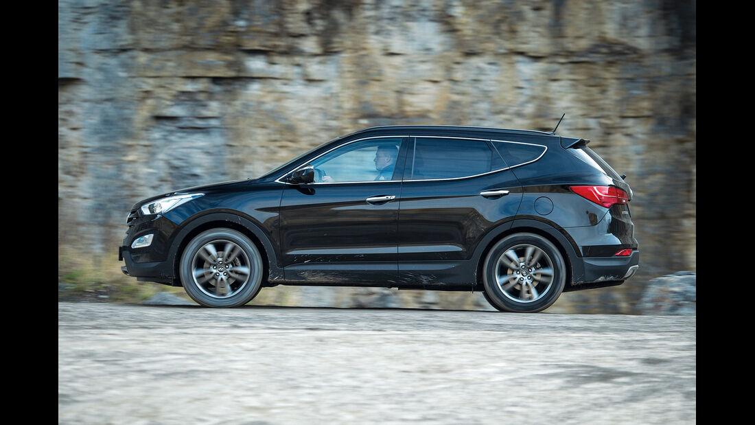 Hyundai Santa Fe, Seitenansicht
