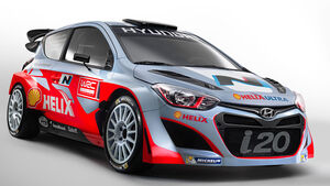 Hyundai Shell World Rally Team 2014 Hyundai i20 WRC