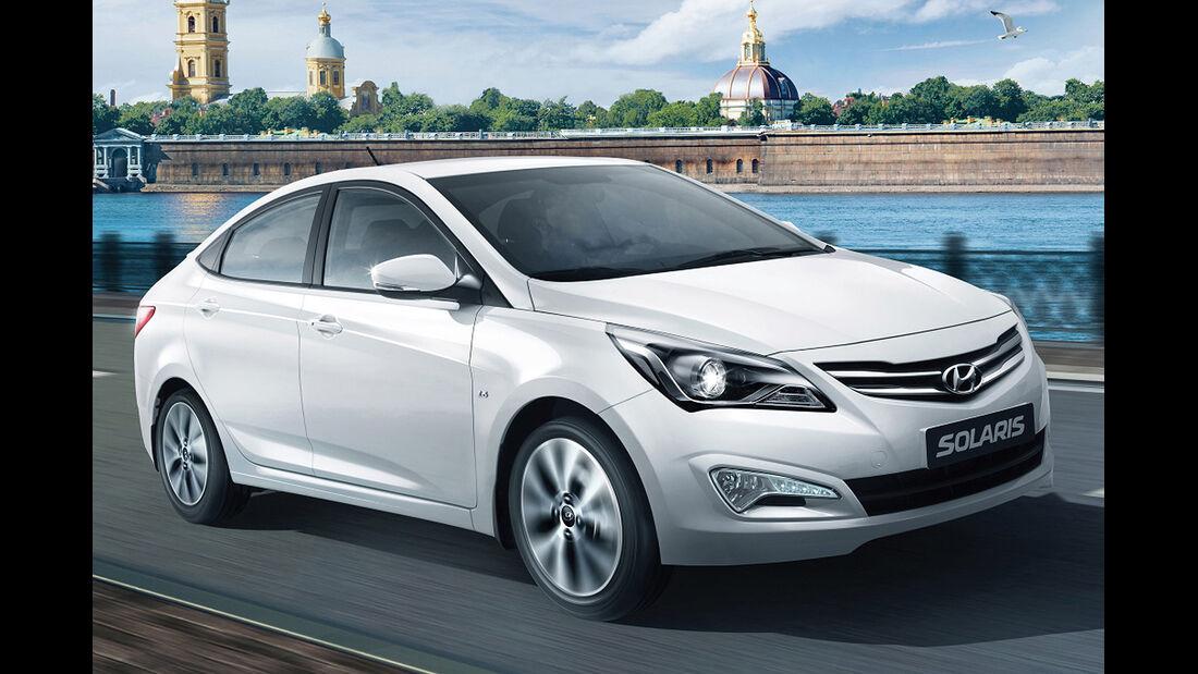 Hyundai Solaris Russland