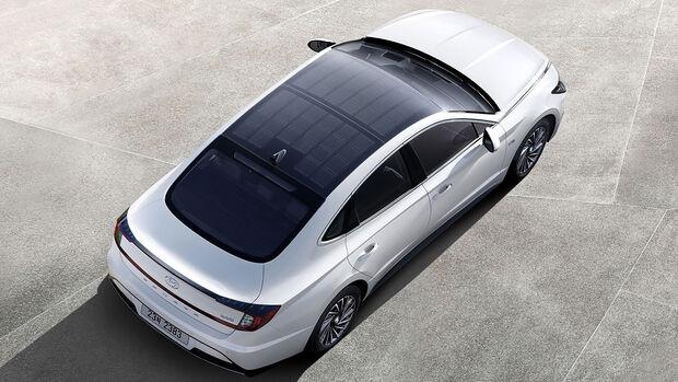 Hyundai Sonata Hybrid Solardach