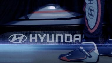 Hyundai Teaser Elektrorennwagen