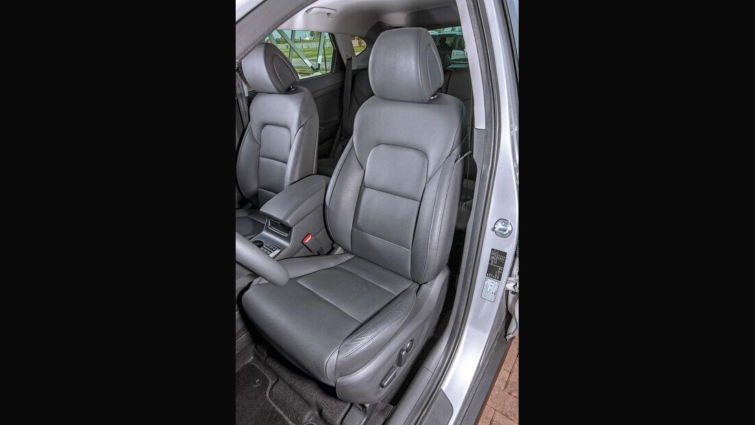 Hyundai Tucson 1.6 Turbo 4WD, Fahrersitz