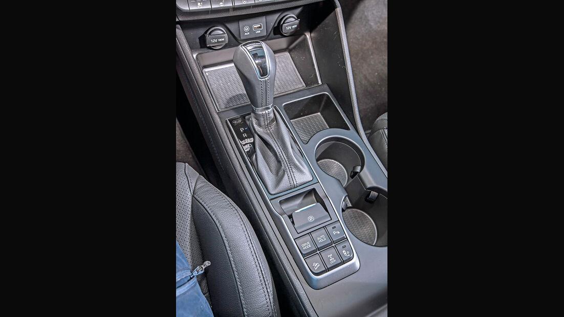 Hyundai Tucson 1.6 Turbo 4WD, Schalthebel