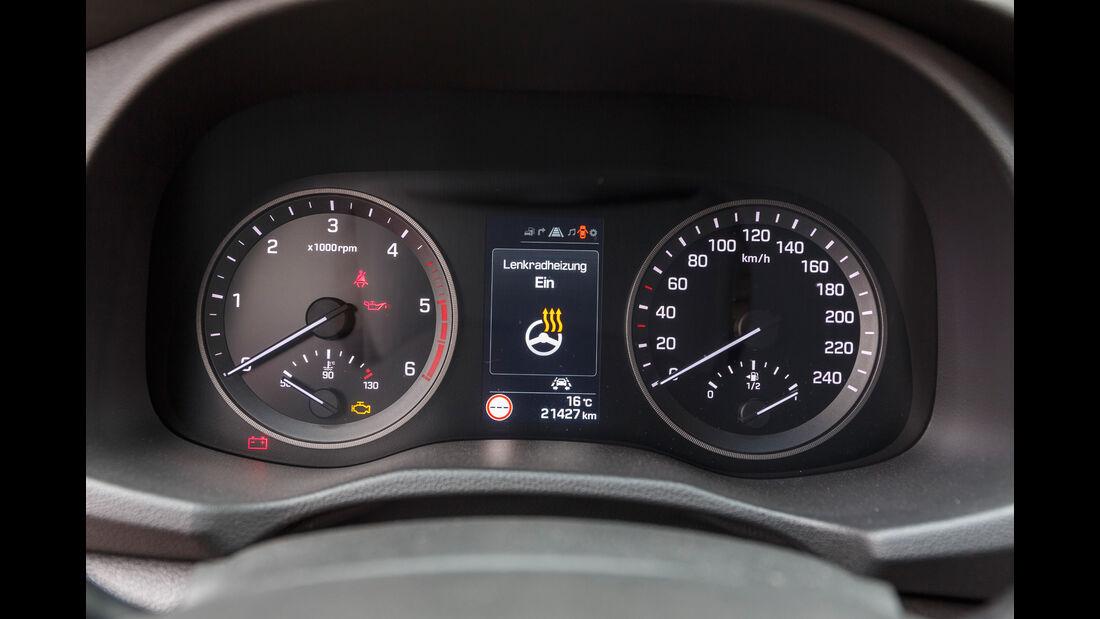 Hyundai Tucson 2.0 CRDi 4WD, Anzeigeinstrumente