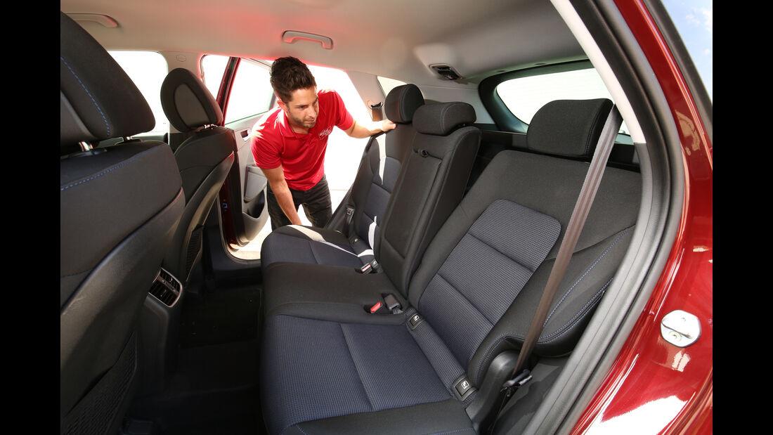 Hyundai Tucson 2.0 CRDi 4WD, Fondsitz