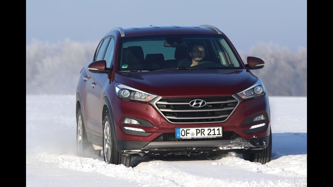Hyundai Tucson 2.0 CRDi 4WD, Frontansicht