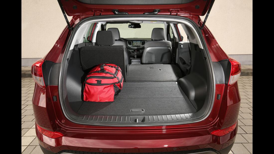 Hyundai Tucson 2.0 CRDi 4WD, Kofferraum