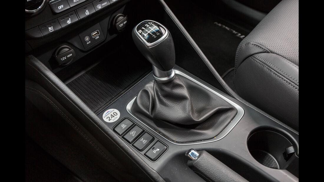 Hyundai Tucson 2.0 CRDi 4WD, Schalthebel
