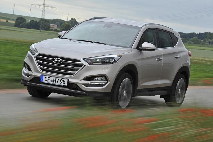 Hyundai Tucson (2016), Fahrbericht, Schreyer