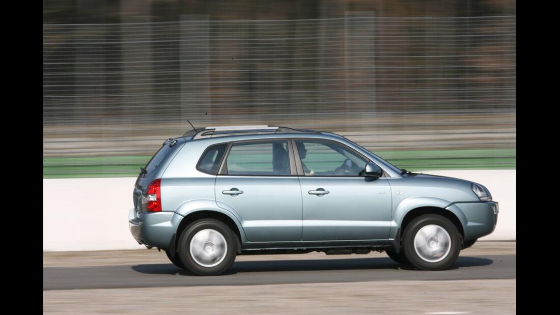 Hyundai Tucson 2WD, Seitenansicht