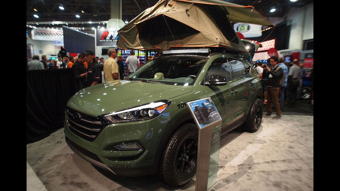 Hyundai Tucson Adventuremobile - SEMA 2015 - Las Vegas