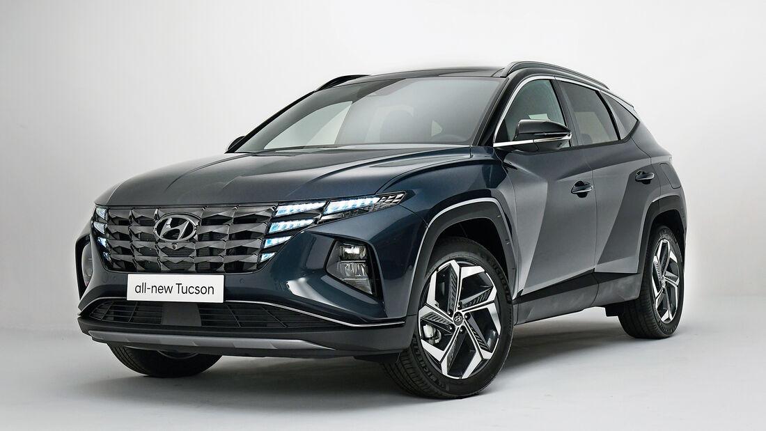 Hyundai Tucson, Exterieur