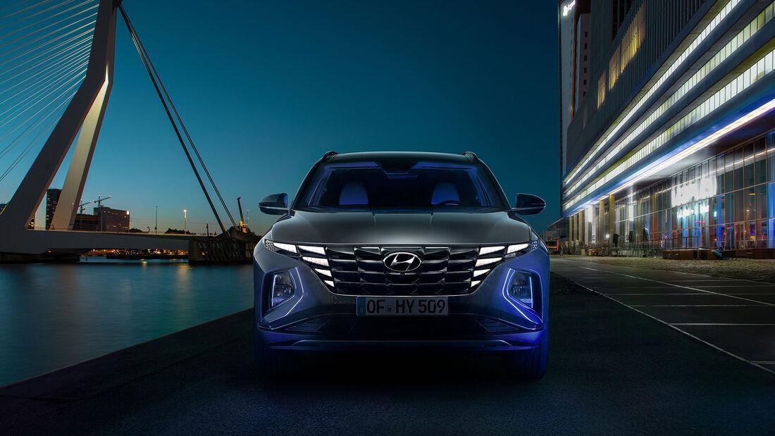 Hyundai Tucson Hidden Light Technik