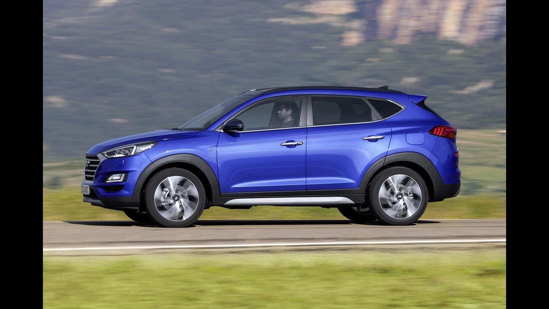 Hyundai Tucson Juli 2018, Exterieur