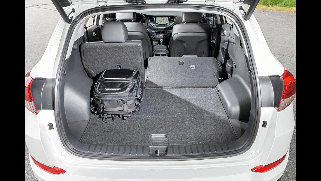 Hyundai Tucson SUV Vergleich AMS1417