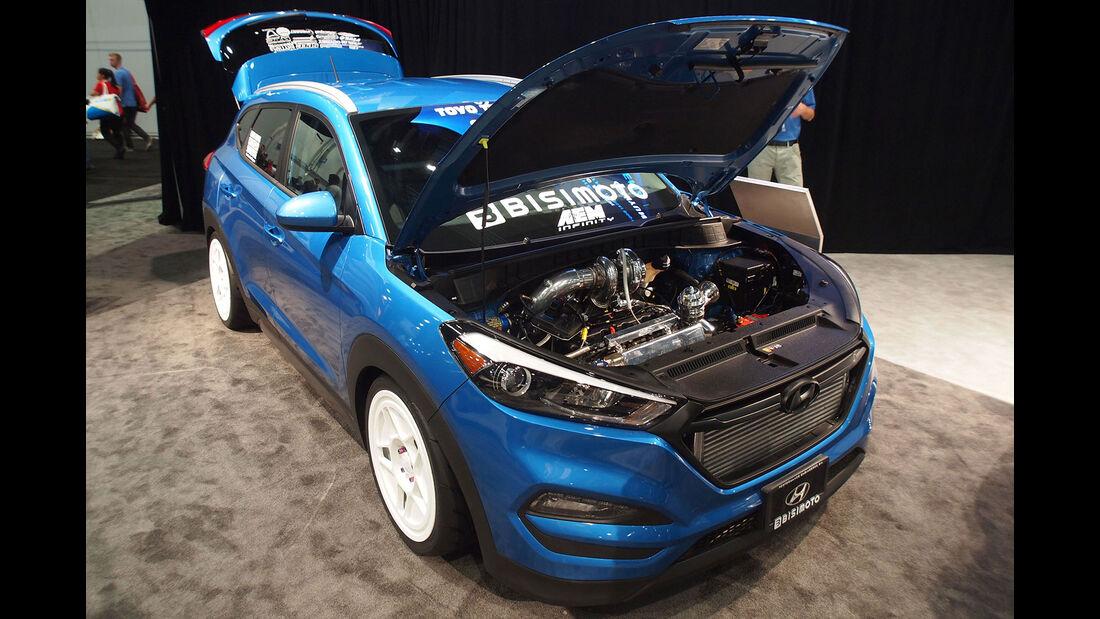 Hyundai-Tucson von Bisimoto Engineering - SEMA 2015 - Las Vegas