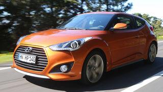 Hyundai Veloster 1.6 Turbo, Frontansicht