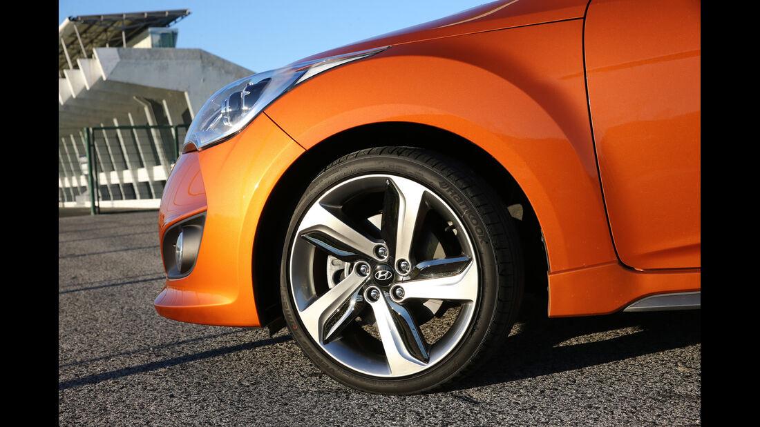 Hyundai Veloster 1.6 Turbo, Rad, Felge