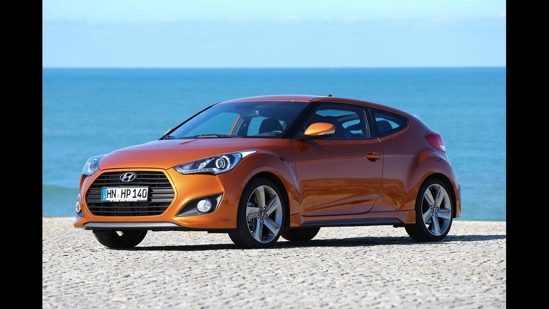 Hyundai Veloster 1.6 Turbo, Seitenansicht