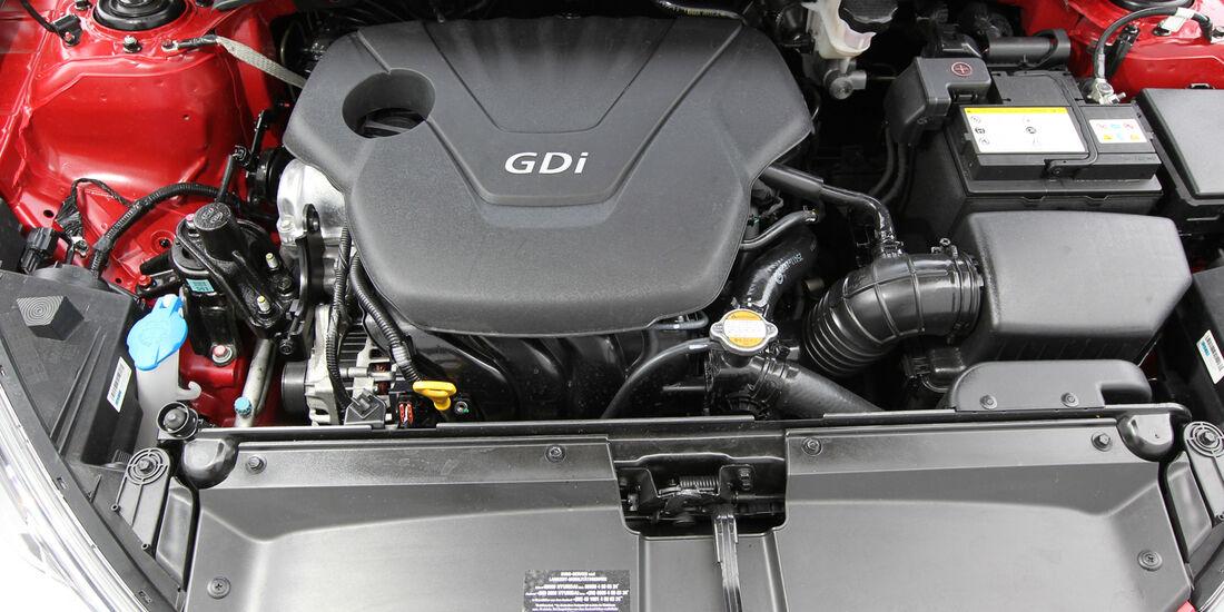 Hyundai Veloster Blue 1.6, Motor